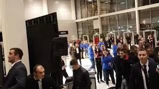 Чемпион UFC Хабиб Нурмагомедов в Екатеринбурге 13.10.2018 г