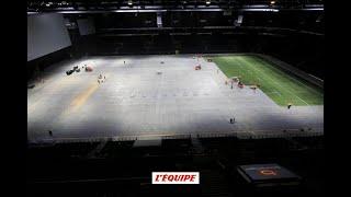 Rugby - Top 14 - Racing : De la moto au rugby, la transformation de la U Arena