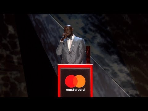 Stormzy wins British Male Solo Artist | The BRIT Awards 2018