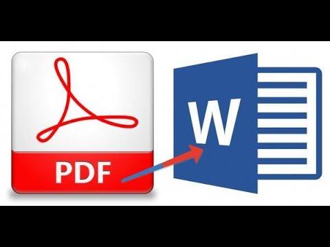 Конвертация PDF в Word за 2 минуты без программ
