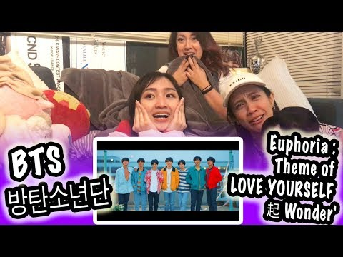 [KPOP REACTION] BTS 방탄소년단 -- EUPHORIA : Theme of LOVE YOURSELF 起 WONDER