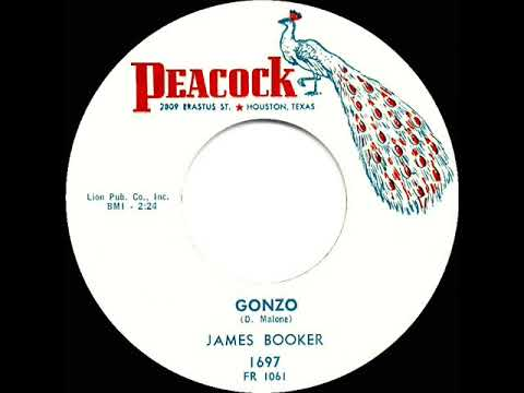 1960 HITS ARCHIVE: Gonzo - James Booker