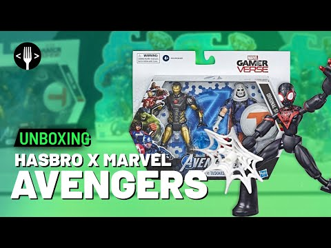 Hasbro Marvel Bend and Flex y Gameverse de Marvel Legends: Unboxing