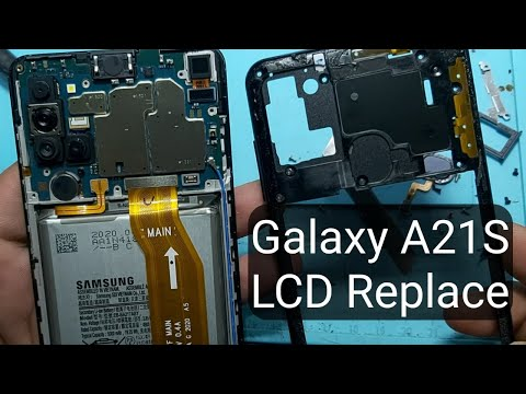 Galaxy A21S LCD Replacement Full Guide