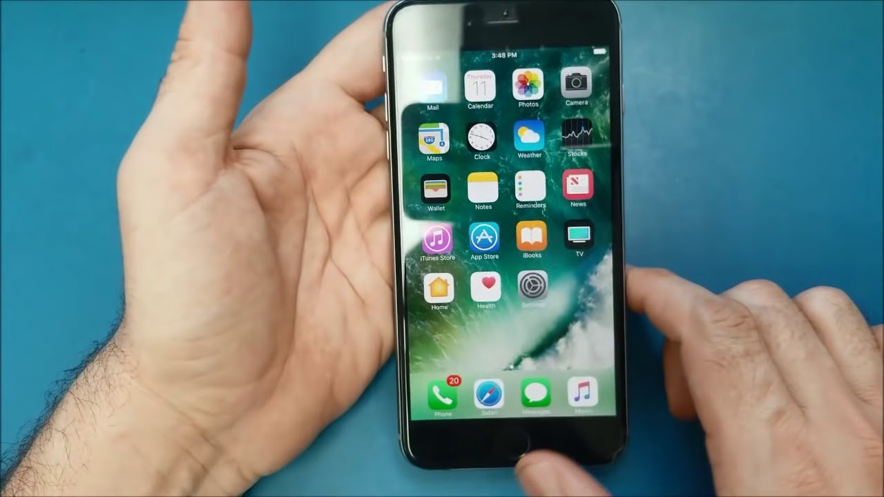 حل سريع لمشكلة تعليق أو توقف اللمس في شاشة الآيفون 6 بلس Iphone 6 Touch Disease Youtube