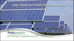 Solar Panel Cleaning Services by Brophy, Syracuse NY