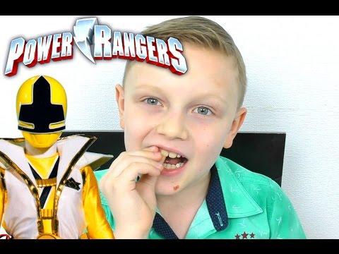 Могучие Рейнджеры Игрушки для Мальчиков Power Rangers ВЫРВАЛИ ЗУБ