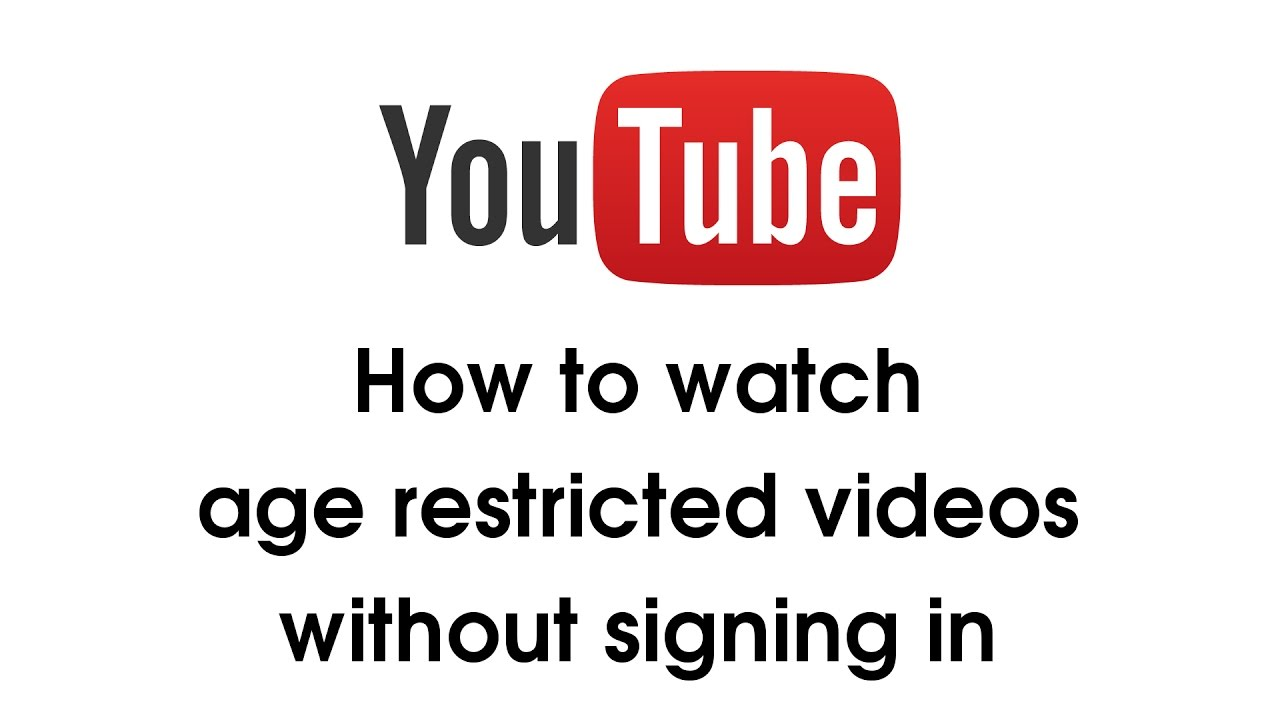 How to watch restricted youtube videos on mobile