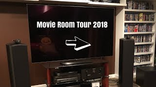 Movie Room and Home Theater Tour 2018