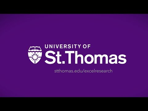 St. Thomas Excel! Research Scholars Program