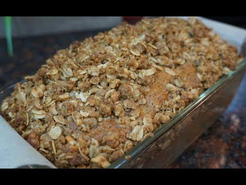 Cinnamon Crumble Zucchini Bread