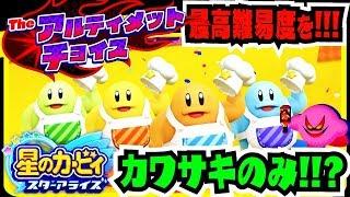 【最高難易度】カワサキだけでアルティメットチョイス!!!ボス戦まとめ!!!【星のカービィ スターアライズ】 thumbnail