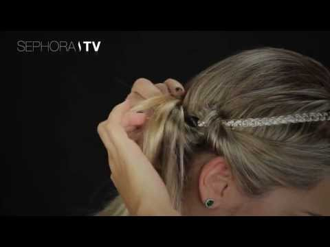 Tutorial de Penteado Sephora: Usando o Headband nos cabelos Travel Video