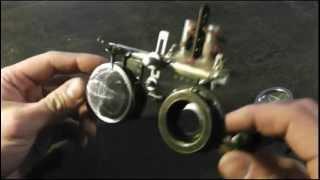 Steampunk - Brille - Goggles - Steampunker