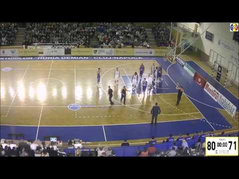 William Paul #11 (Craiova)vs(Cluj Napoca) Romania 2016-2017