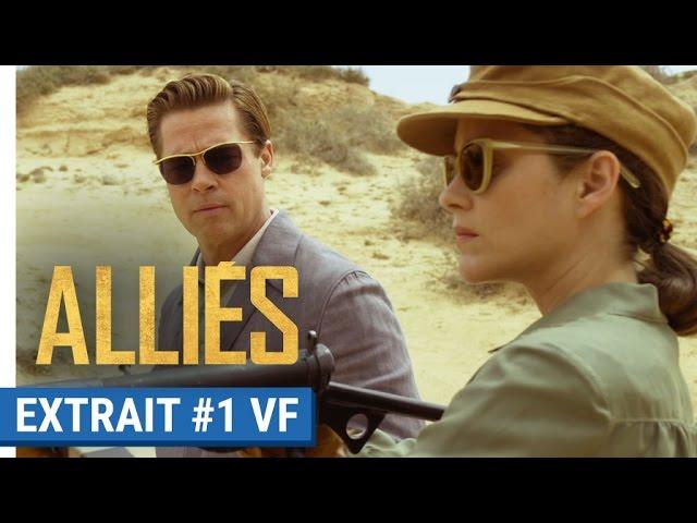ALLIÉS - Extrait #1 : Entraînement au tir avec Brad Pitt & Marion Cotillard (VF)