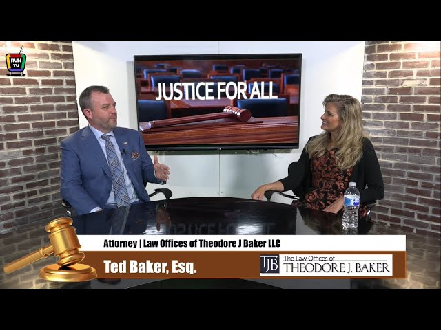 Theodore J. Baker Recently Appeared on Justice For All on RadioVision Network