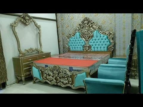 chinioti-furniture-price-in-pakistan-new-bed-designs-|-chiniot-furniture-market-bed-set-sofas-chairs