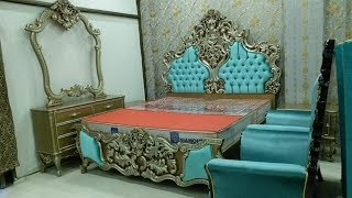 Chinioti Furniture Price In Pakistan New Bed Designs | Chiniot Furniture Market Bed Set Sofas Chairs