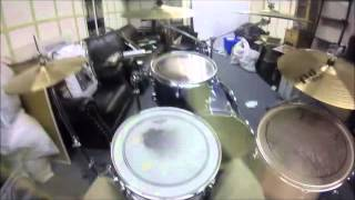 motorhead king of kings hhh theme song drum cover 100 gopro