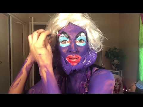 Ursula Makeup Tutorial FAIL - After Special Treats