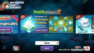 Plantas vs zombies 2 viciando