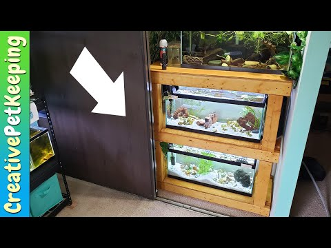 MY FIRST DIY multiple aquarium rack (TANK STAND for 20 gallon long)
