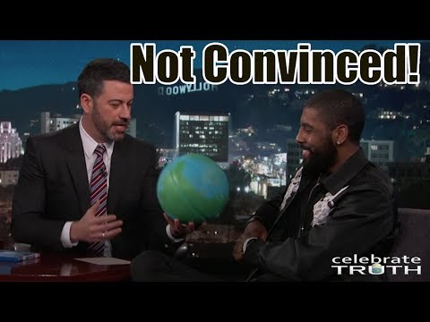 Jimmy Gives Kyrie Irving A Globe Basketball To Debunk Flat Earth