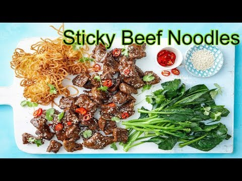 How To Cook  Sticky Beef Noodles | Food Media