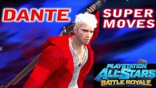 PlayStation All Stars - DANTE SUPER MOVES