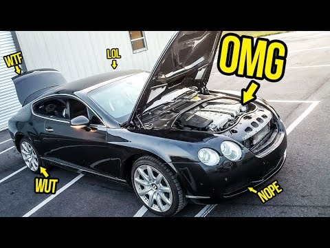 Everything Wrong With My $11,000 Bentley Continental GT