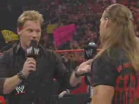 Raw 5/12/08: HBK Y2J Face-to-Face