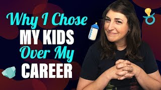 Choosing To Be A Stay At Home Mom || Mayim Bialik