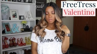 The BEST Everyday Affordable Wig | FreeTress Valentino Wig | Angelle's Life