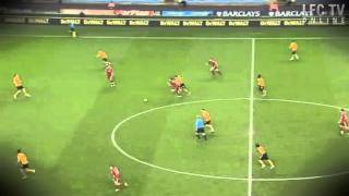 Andy Carroll great skill against Wolves