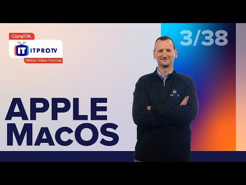Apple MacOS   CompTIA IT Fundamentals+ (FC0-U61)   Free Test Prep Course From ITProTV