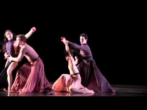 Martha Graham Dance Company - Echo Dress Rehearsal Clips