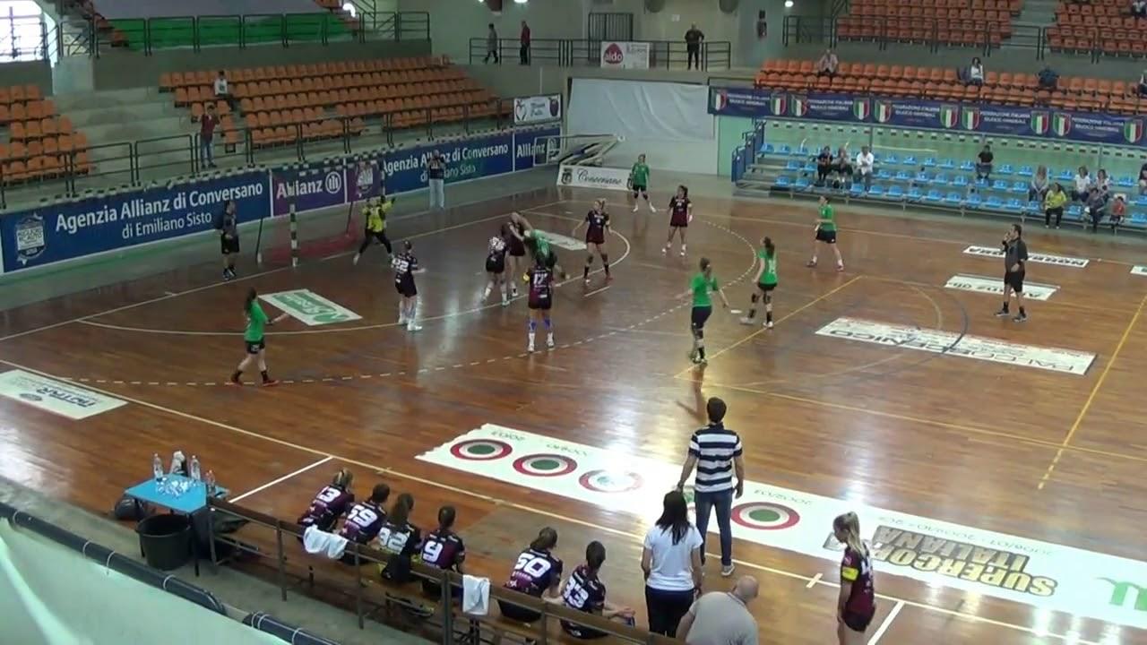 Serie A1F [Semifinali G2]: Conversano - Cassano Magnago 30-21