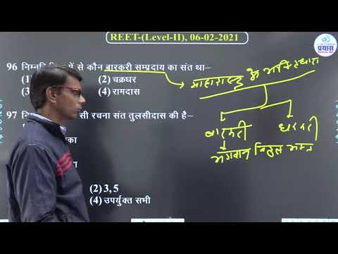 Download REET Level-2nd (SST) Test Series-2021 Paper Solution (5) By-Prayas Team