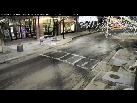 Stevens Point Creative Crosswalk Live