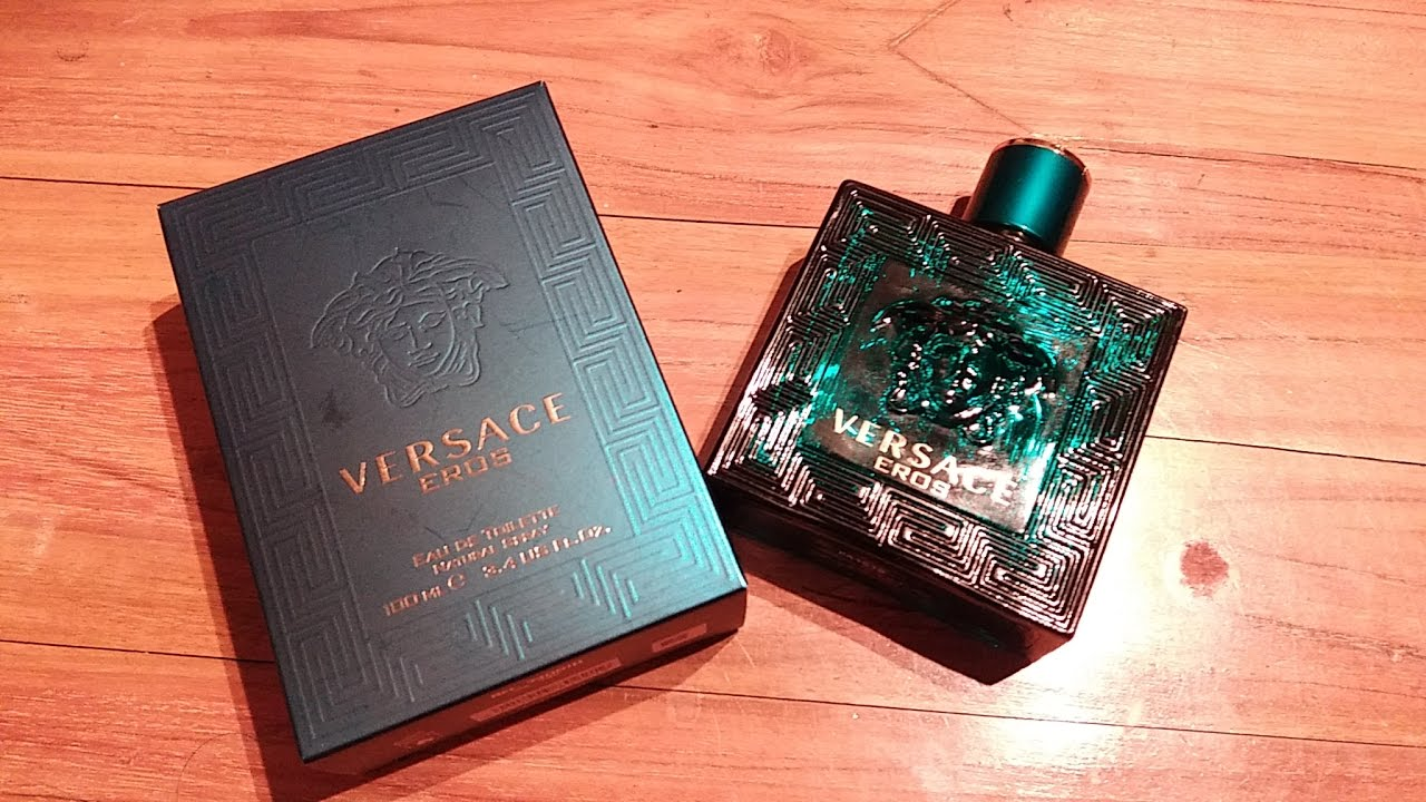 5135ecf9ce39 Versace Eros For Men EDT Fragrance Review - YouTube