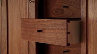 How the Drawer Pulls were made for furniture