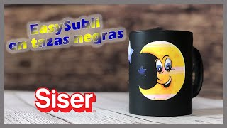 EasySubli de Siser en Tazas negras o mal sublimadas!