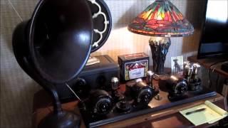 Atwater Kent 4340 Model 10 Breadboard Radio - 1924 - Wildwood Castle