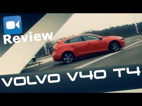 2013 Volvo V40 T4 180 BHP Review (English Subtitles)