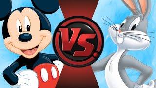 MICKEY MOUSE vs BUGS BUNNY! Cartoon-Fight Club-Folge 87