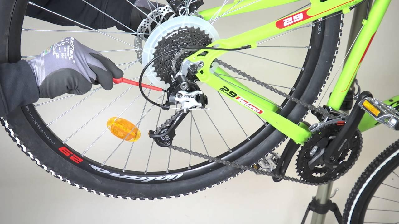 Fahrrad Schaltung Einstellen Feinjustierung Erklärvideo