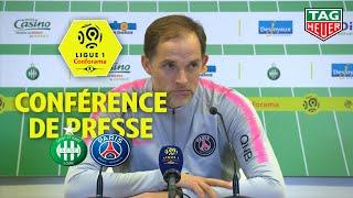 Conférence de presse AS Saint-Etienne - Paris Saint-Germain (0-1)  / 2018-19