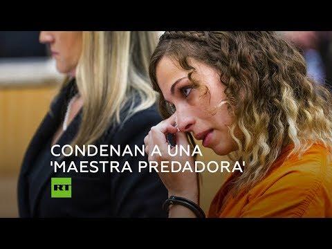 RT en Español: Brittany Zamora: la profesora que abusó sexualmente de un alumno de 13 años