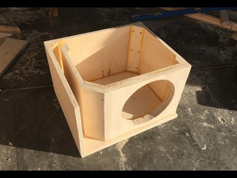 """Building a Ported Box for a 12"""" Alpine Type R"""